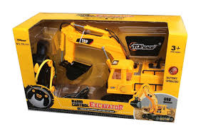 amazon com top race 7 channel full functional rc excavator
