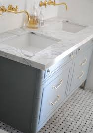 Faucets Sinks Etc Fabulous Bathroom Great Tile Marble Countertops Brass Faucets