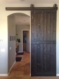 How To Build A Barn Door Frame Barn Door Over Arched Opening For The Home Pinterest Barn