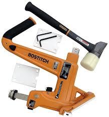 Laminate Floor Stapler Bostitch Mfn 201 50mm Manual Ratchet Floor Nailer Amazon Co Uk