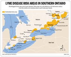 Lyme Map Lyme Disease Hit Record Levels In 2017 Next Year Likely To Be