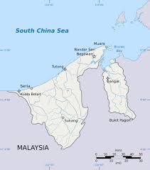 Asia Rivers Map by Maps Of Brunei Detailed Map Of Brunei In English Tourist Map