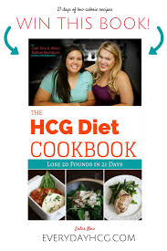 last day to win a free copy of the hcg diet cookbook everyday hcg