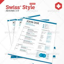 Best Resume Styles by 20 Best Resume Templates Swiss Style