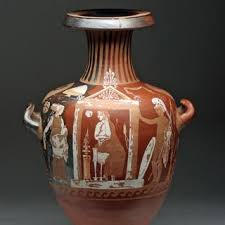 Greek Red Figure Vase Ancient Greek Red Figure Pottery Greek Artifacts Ancient