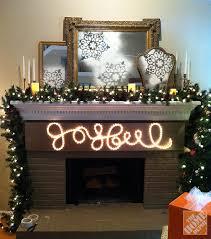 decor joyful rope light sign
