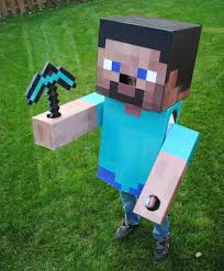 minecraft costume minecraft steve costume 6 steps with pictures