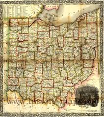 Map Of Ohio by Railroad Map
