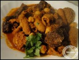 cuisiner le mouton les tripes de mouton en sauce ou dowara