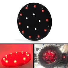 jeep wrangler third brake light spare tire wheel led 3rd third brake light l ring for jeep