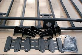nissan frontier roof rack smittybilt defender roof rack and off road led bars install 8