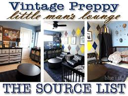 does it or list it leave the furniture shop the room menswear inspired boy s room source list