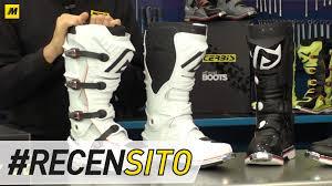 ufo motocross boots acerbis x move 2 0 recensione stivale motocross youtube