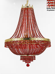ruby chandelier empire style chandelier chandeliers crystal chandelier crystal