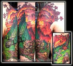 new picture tatto half sleeve tattoo designs