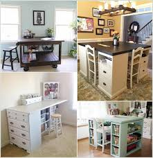 Cool Diy Desk 10 Cool Diy Craft Table Ideas For Your Craft Room Craft Room Desk