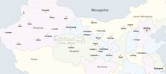 Luoyang China Map by Tailor Made Tours The Silk Road China Tours