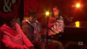 wise aboriginal elders perform on qanda with antony hegarty coub