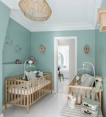 photo chambre bébé la chambre de bébé pour jumeaux les plus belles chambres de bébé