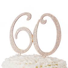 60 cake topper 60 cake topper gold ella celebration