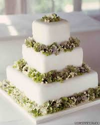 flower fondant cakes green wedding cakes martha stewart weddings