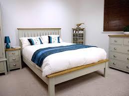 Double Bed Designs Catalogue Grey Painted Oak Double Bed Oak City