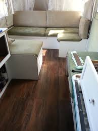 Pop Up Camper Interior Ideas by Just Finished The Floor In My Popup Remodel I Used Lowe U0027s Peel