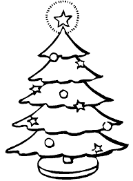 christmas tree coloring pages coloring