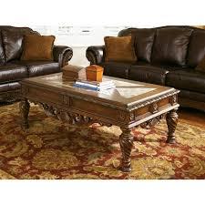north shore coffee table north shore coffee table dark brown signature design by ashley