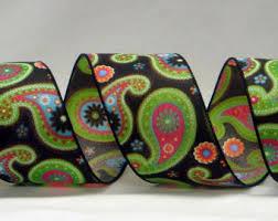 paisley ribbon offray paisley ribbon satin paisley ribbon satin swirl ribbon