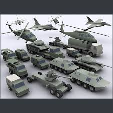 army vehicles army military combat vehicles low poly 3d model cgtrader