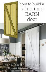 How To Build A Sliding Closet Door 25 Best Ideas About Diy Barn Door On Pinterest