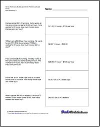 3rd grade math problems worksheets worksheets