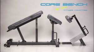 Bench Gym Equipment Core Bench Fitness Equipment Mccall Fitness Commercial Youtube