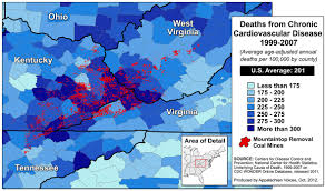 Appalachian Mountains On Map Human Health Impacts U2013 Appalachian Voices