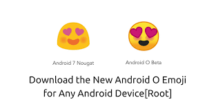 android new emoji 5 0 the new android o emoji for any android device