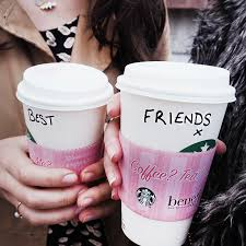 have you met our bestfriends starbucks benefit cosmetics