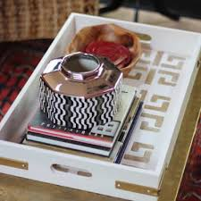 diy tray gold and white decor tray diy baskets trays tip junkie