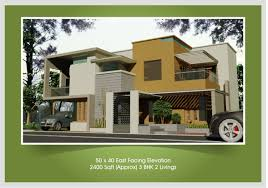 budget home plans east face house elevation building plans 2017 also 2 bhk plan