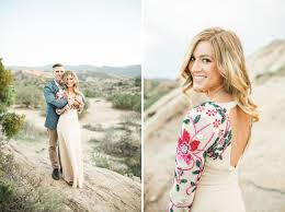 Engagement Photos Bohemian Desert Engagement Session Green