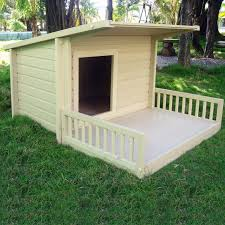 House With A Porch Dog House W Porch And Free Shipping The Nature Time Dog House Will