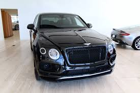 black bentley sedan 2018 bentley bentayga w12 black edition stock 8n018676 for sale