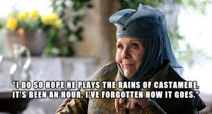 Purple Wedding Meme - a snide comment from olenna tyrell i missed during the purple