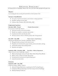 Cook Resume Template Resume Samples Cv Kitchen Hand Exam Peppapp