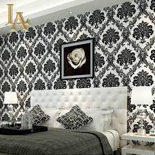 Home Wallpaper Decor online get cheap damask flock wallpaper aliexpress com alibaba