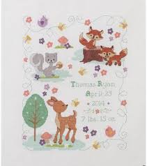 14 best birth record cross stitch images on baby chart