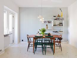 minimalist dining table and chairs long kitchen table at rustic dining table scandinavian dining room