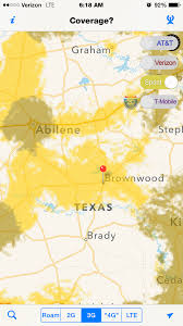 Verizon Alaska Coverage Map by Brownwood Tx Coverage Gap