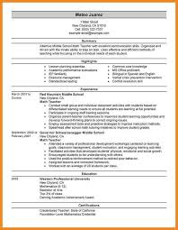 Bilingual Teacher Resume Samples by The Perfect Resume Examples The Perfect Resume Examples How Make