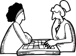 checkers game board coloring page wecoloringpage